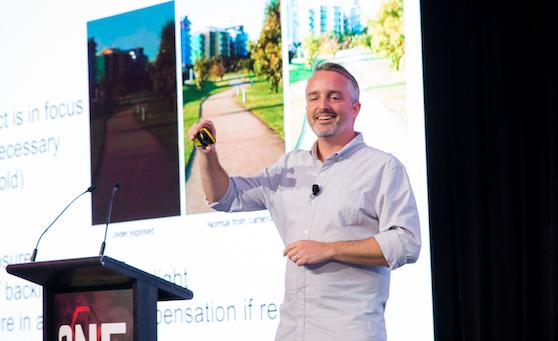 Ben speaking Lift Brands Summit